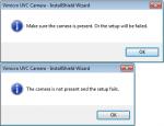 Vimicro camera - setup fail