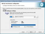 MySQL - negative disk space