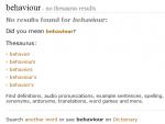 Thesaurus fail