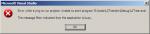 Visual Studio - busy