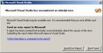 Visual Studio - internal error