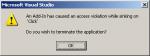 Visual Studio - sinking