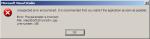 Visual Studio - unexpected error